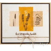Marianne Design Clear Stamps - Colorful Silhouettes - Wildflowers